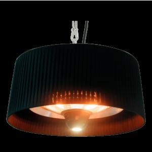 udendørslampe med varme