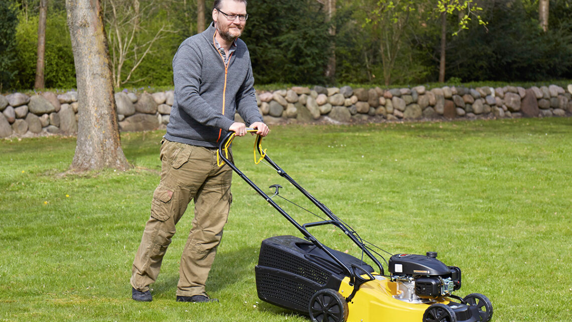 Ginge plæneklipper – Den perfekte løsning til din græsplæne