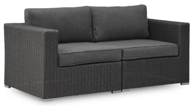 lille sort loungesæt