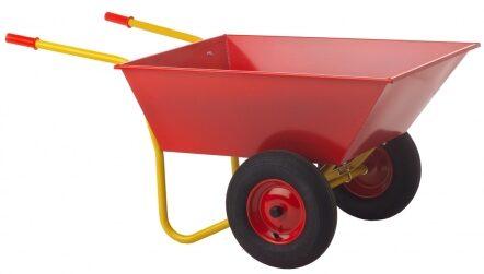 Trillebør med to hjul