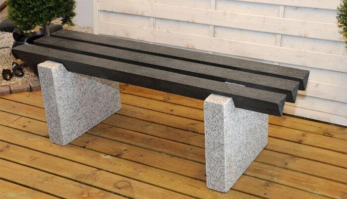 billig havebænk i granit