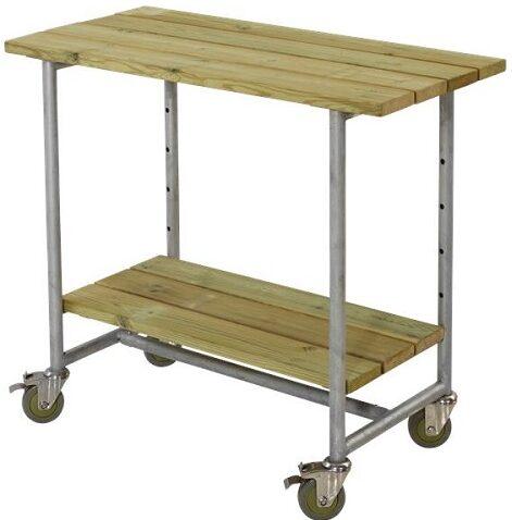plantebord med hjul